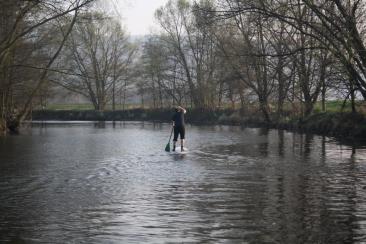 paddler ahead