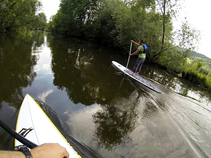 SUP Session am 6. Juni