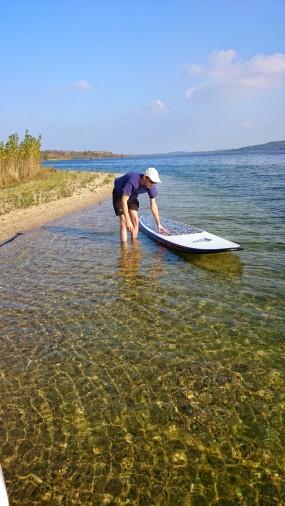 sauberes Wasser - sauberes Board