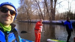Downstream Glide bei Burgau